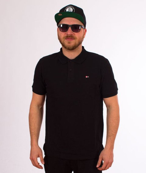 Southpole-Redifined Classic Polo T-shirt Black