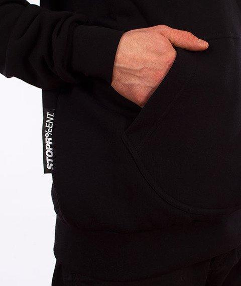 Stoprocent-BM Downhill Bluza z Kapturem Black