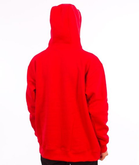 Stoprocent-BM Tag18 Bluza z Kapturem Red