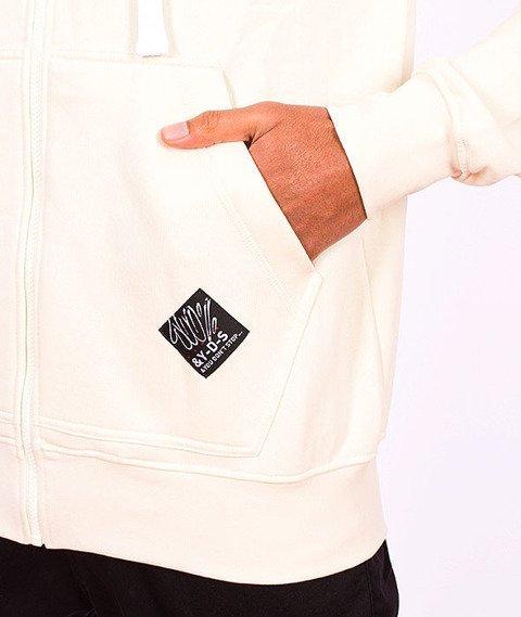 Stoprocent-BMS Hoodtag16 Bluza Zip Beige