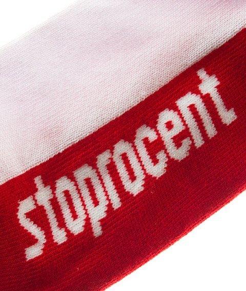 Stoprocent-Border Skarpetki Red