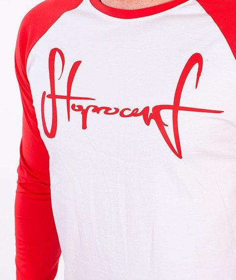 Stoprocent-CS Sleeve Longsleeve Biały/Czerwony