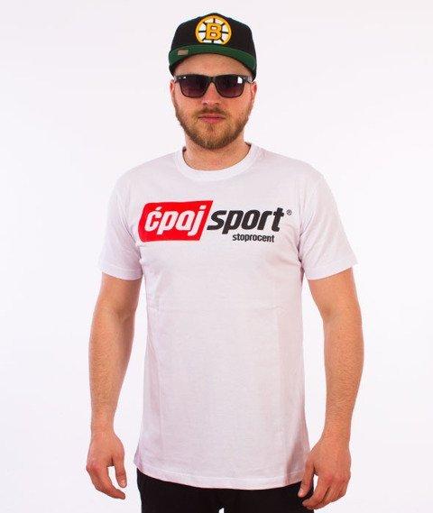 Stoprocent-CS17 T-Shirt Biały