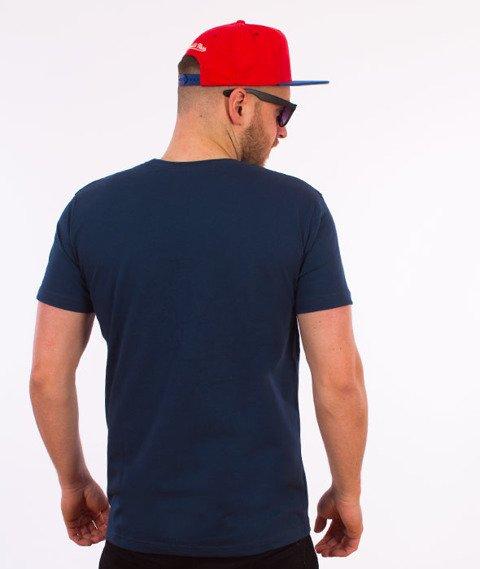 Stoprocent-Champ T-Shirt Granatowy