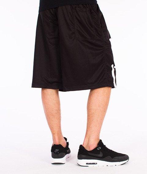 Stoprocent-Frontag Spodnie Krótkie Czarne