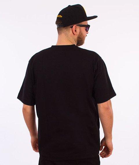 Stoprocent-Neon T-Shirt Czarny