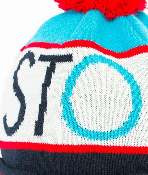Stoprocent-New Simple Czapka Zimowa Niebieska