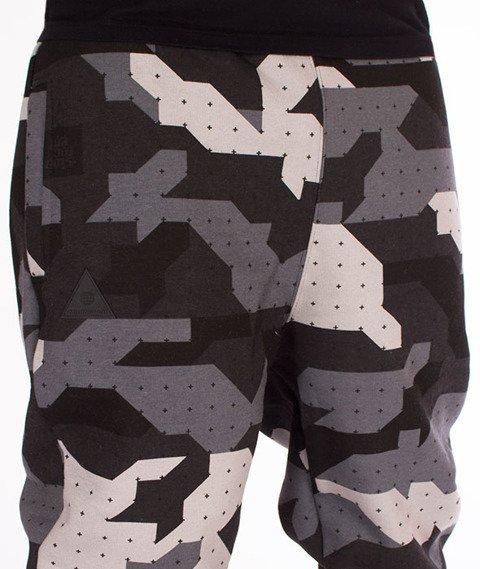 Stoprocent-SDC Jogger Camu Spodnie Dresowe Black