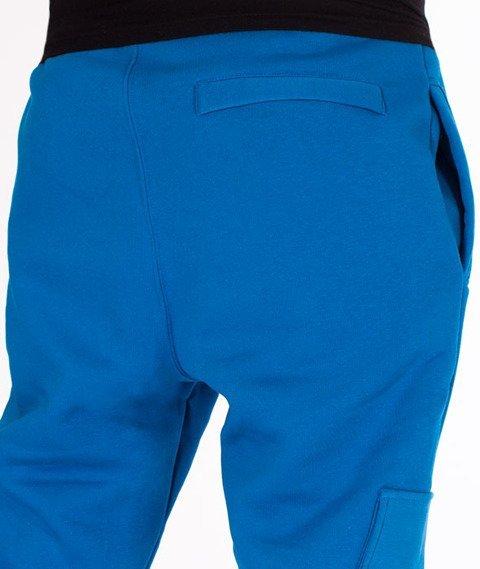 Stoprocent-SDC Jogger Vintage Spodnie Dresowe Navy Blue
