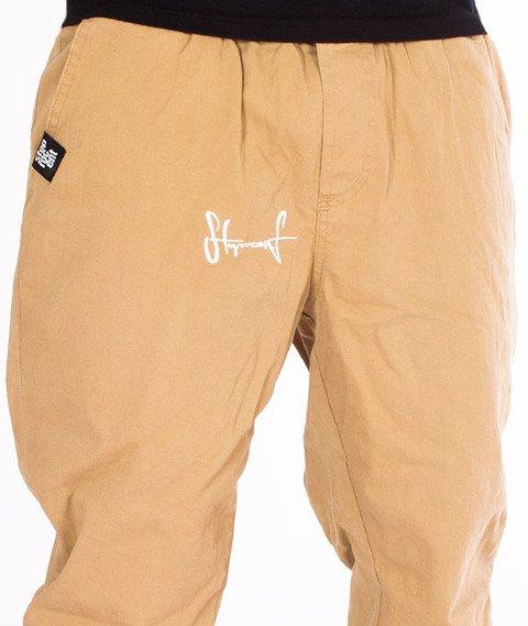Stoprocent-SJJ Classic Spodnie Jogger Beige