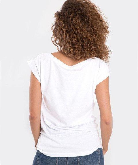 Stoprocent-Sen T-Shirt Damski Biały