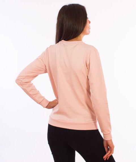 Stoprocent-Simple Bluza Damska Różowa