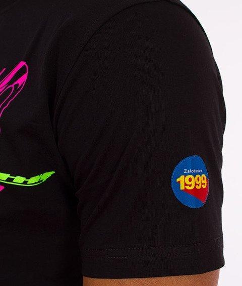 Stoprocent-Surftag T-Shirt Czarny