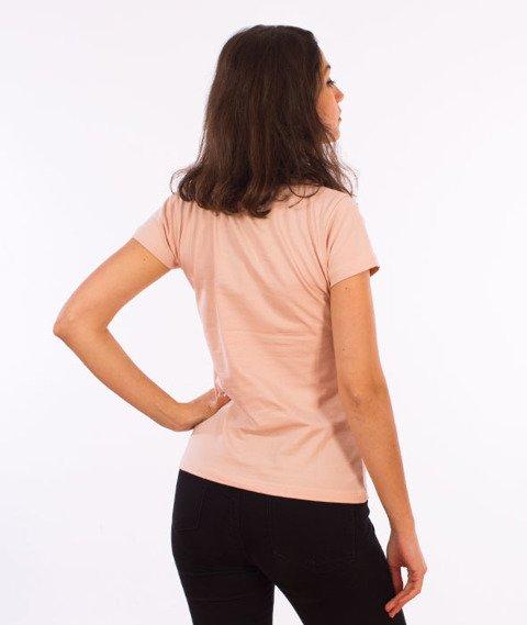 Stoprocent-TDS Stoprogirl17 T-Shirt Damski Różowy