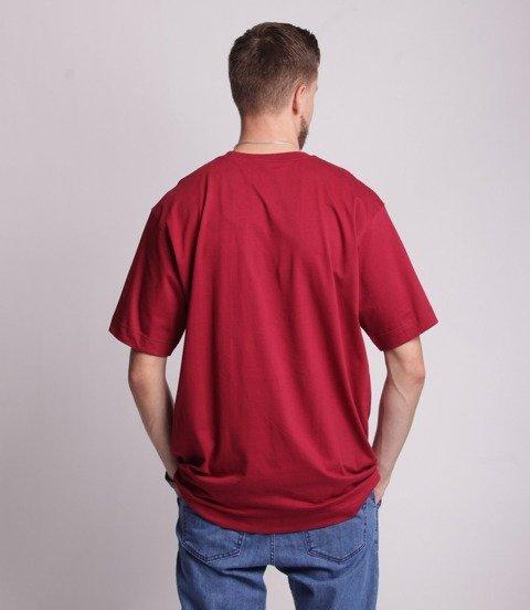 Stoprocent TM TAG T-Shirt Baggy Bordowy