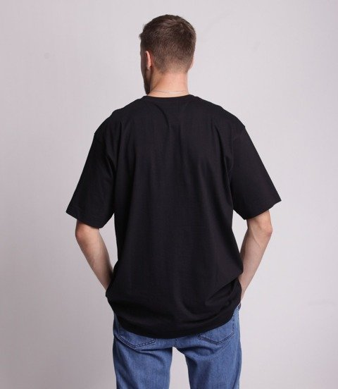 Stoprocent TM TAG T-Shirt Baggy Czarny