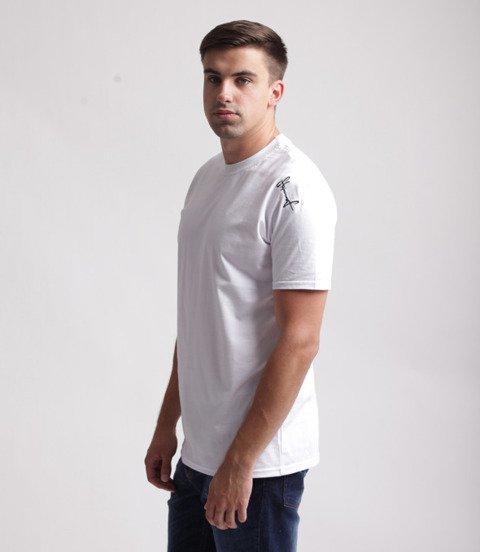Stoprocent TMS Base Smalltag Slim T-shirt Biały