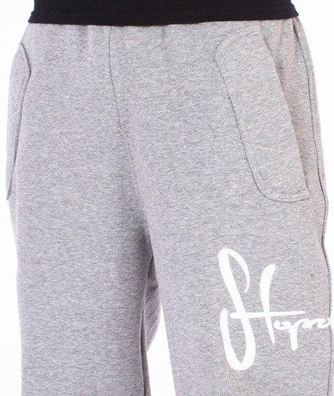 Stoprocent-Tag16 Spodnie Dresowe Szare