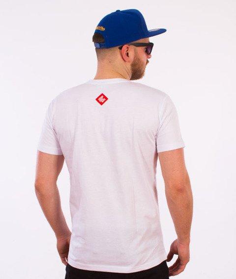 Stoprocent-Tag17 Slim T-Shirt Biały