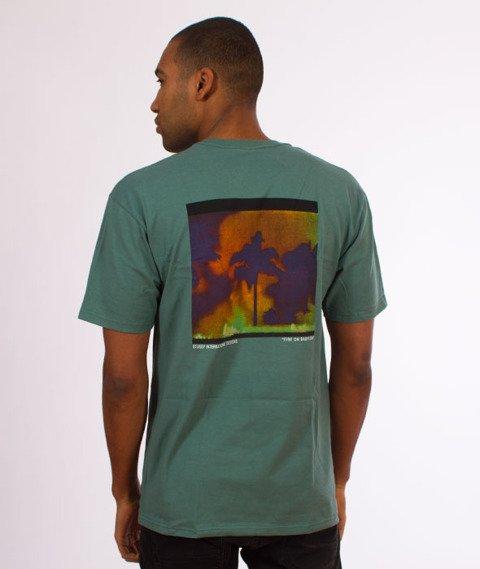 Stussy-Fire on Babylon T-Shirt Sage