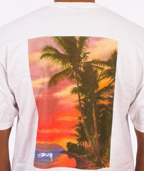 Stussy-Isle O' Dreams T-Shirt White