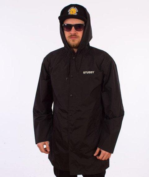 Stussy-Long Hooded  Coach Jacket Kurtka Black