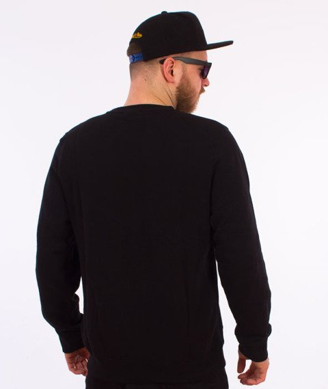 Stussy-New Stock App. Crewneck Bluza Black