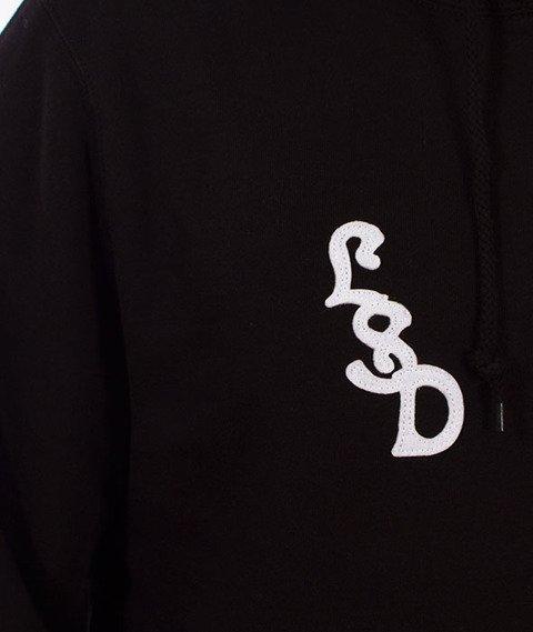 Stussy-Palms Applique Hood Bluza Kaptur Black