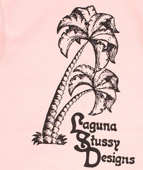 Stussy-Palms Applique Hood Bluza Kaptur Dusty Rose
