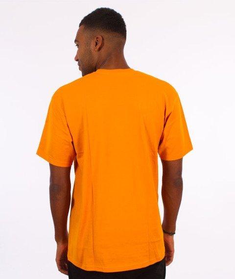 Stussy-Prism Logo T-Shirt Apricot