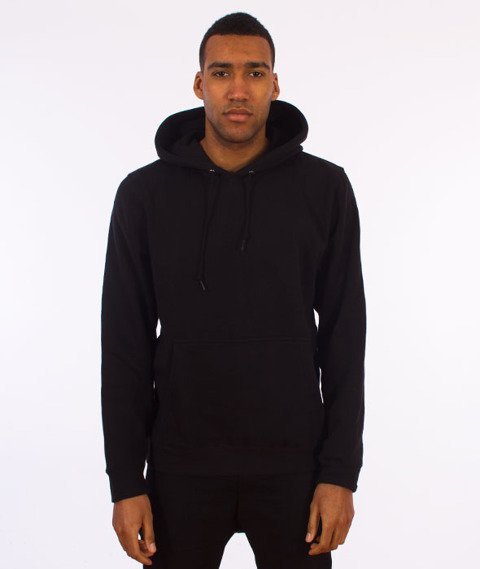 Stussy-Standard Hood Bluza Kaptur Black