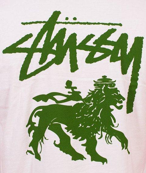 Stussy-Stock Lion T-Shirt White