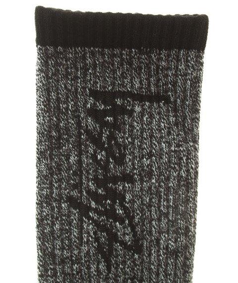Stussy-Stock Socks Skarpetki Black/White