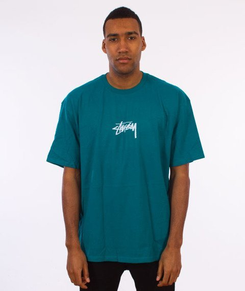 Stussy-Stock T-Shirt Dark Teal