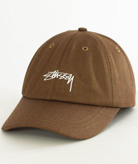Stussy-Suiting Low Pro Cap Czapka Khaki