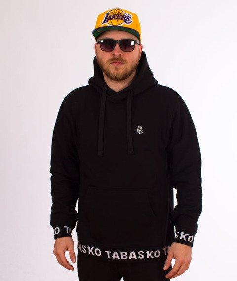 Tabasko-Circle Bluza Kaptur Czarna