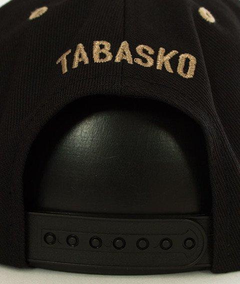 Tabasko-Logo Snapback Czarny