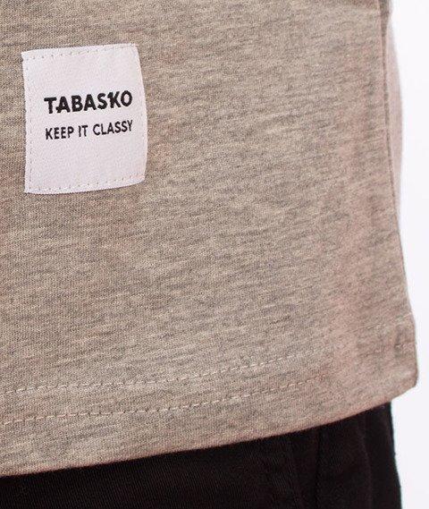 Tabasko-Mini Logo T-Shirt Szary