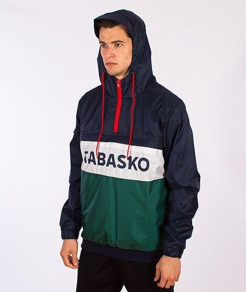 Tabasko-Proof Kurtka Granatowa/Biała/Zielona