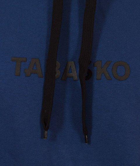 Tabasko-Tape Bluza Kaptur Granatowa
