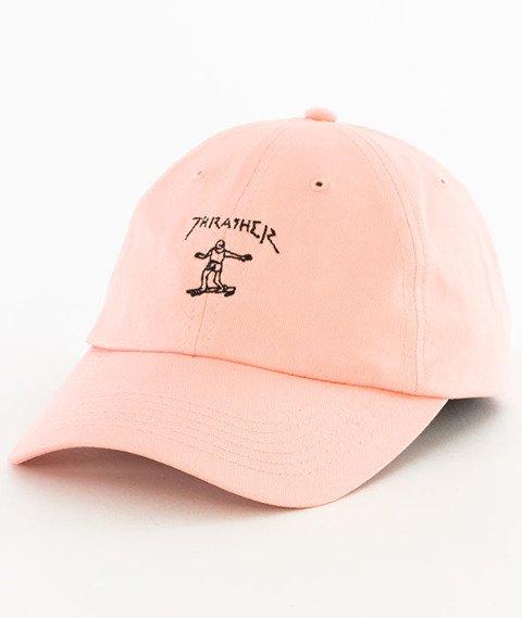 Thrasher-Gonz Old Timer Snapback Pink