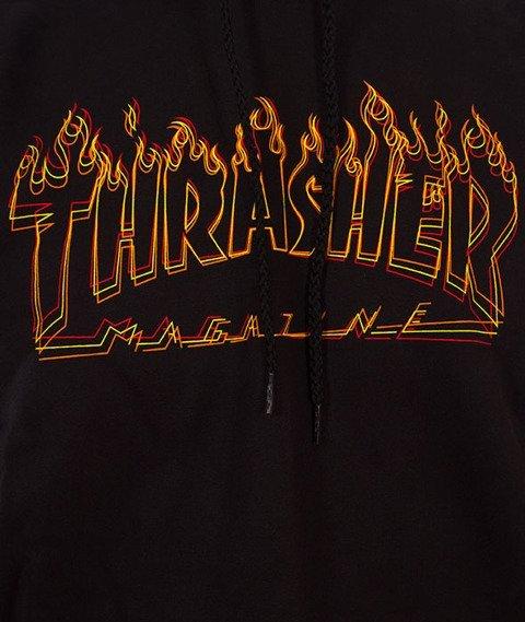 Thrasher-Richter Bluza Kaptur Black