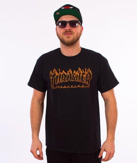 Thrasher-Richter T-Shirt Czarny