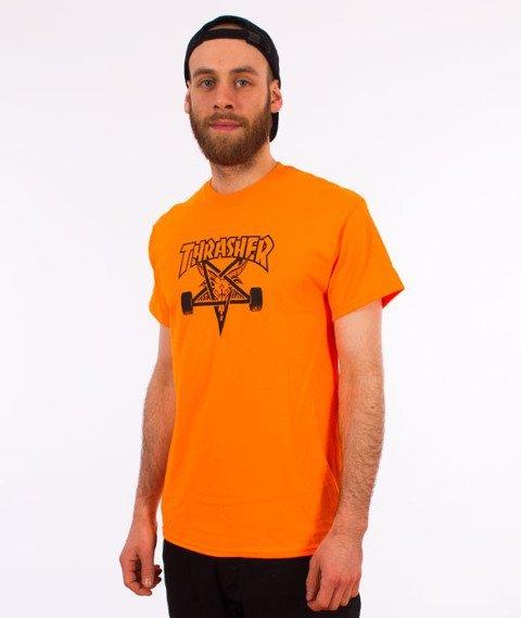 Thrasher-Skategoat T-Shirt Orange