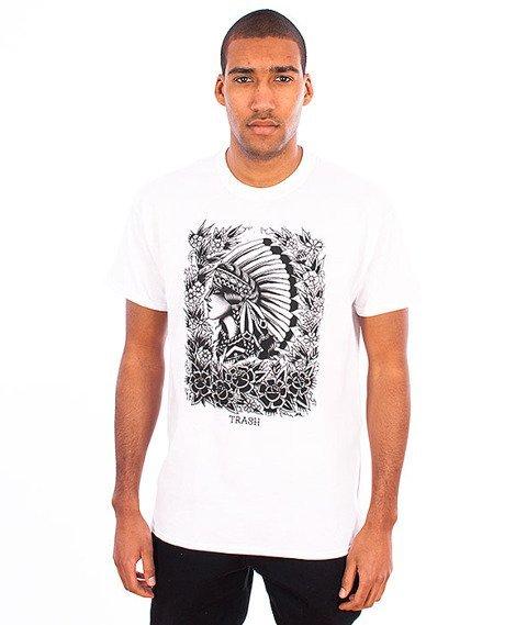 Trash-Indianka T-shirt Biały