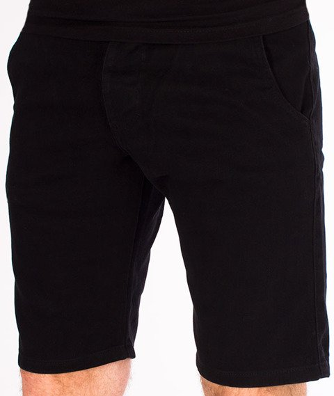 Turbokolor-Chino Shorts Spodnie Black