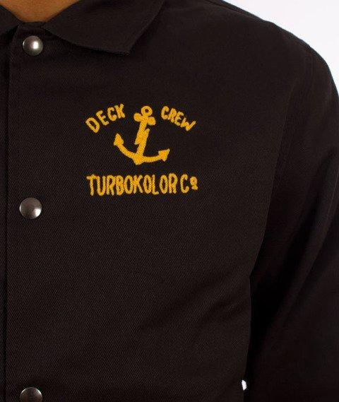 Turbokolor-Herald Deck Crew Jacket Black