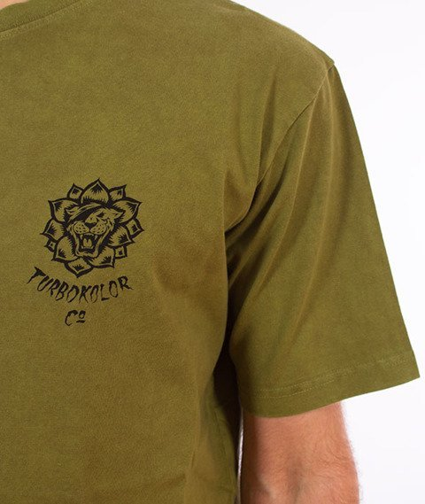 Turbokolor-Keep On T-Shirt Khaki