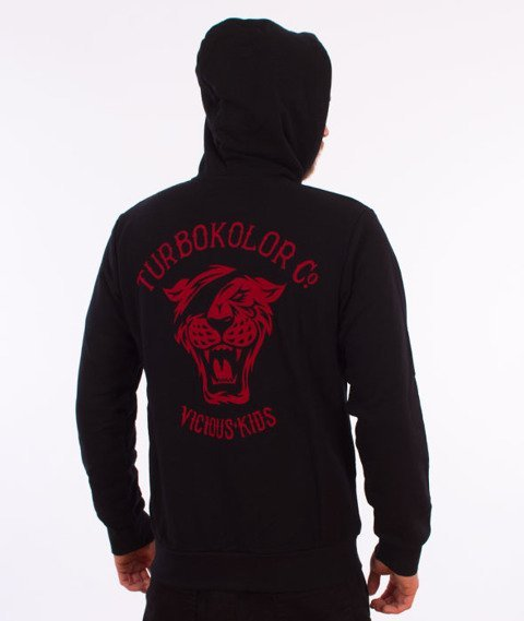Turbokolor-OG Tiger Bluza Kaptur Zip Black