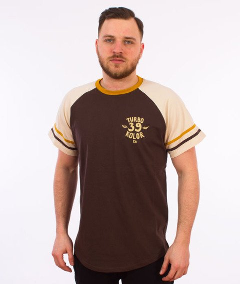 Turbokolor-Old School T-Shirt Brown